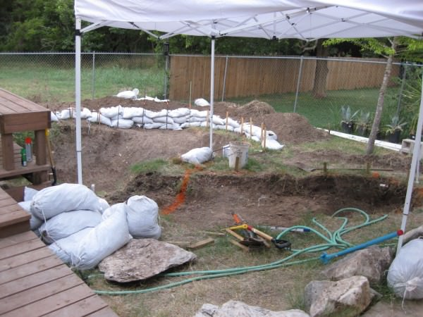 08 - Texas digging and fortification in mid-July