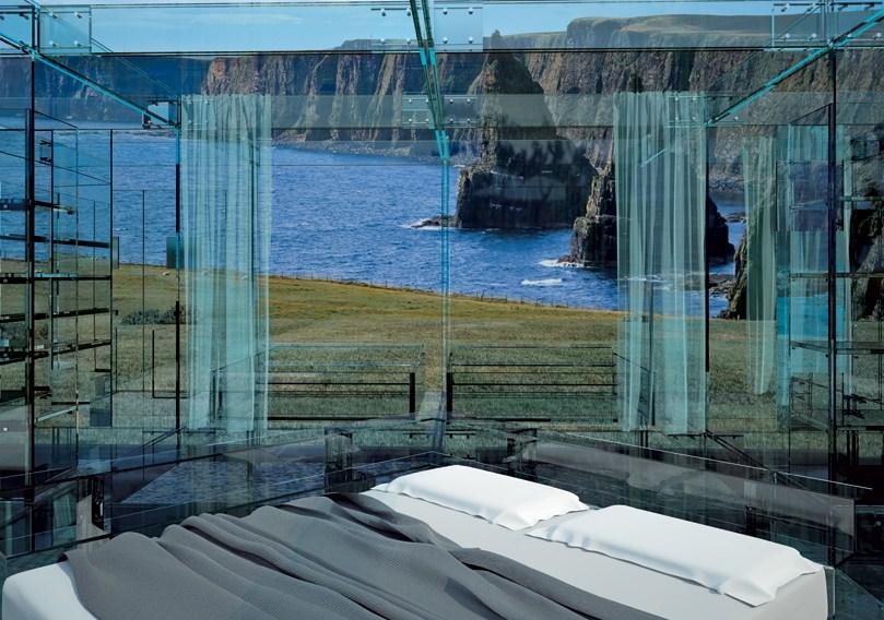 vedere dormitor casa de sticla 2