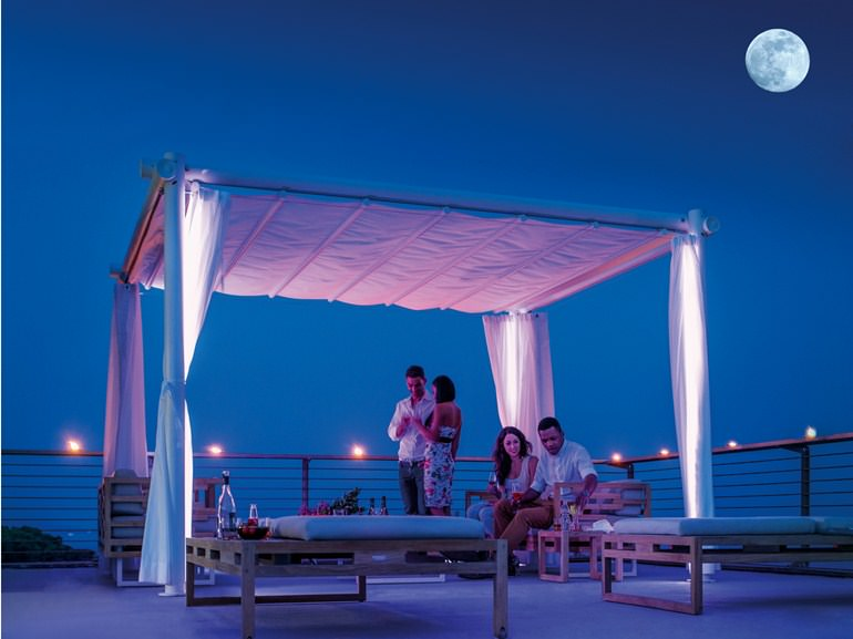 HAT-pergola-night-view