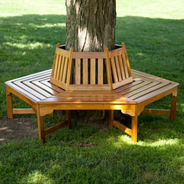 Wooden-tree-bench-from-Hayneedle