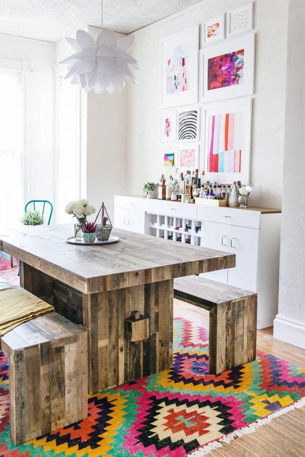 Dining-room-of-A-Beautiful-Mess-blogger-Elsie-Larson