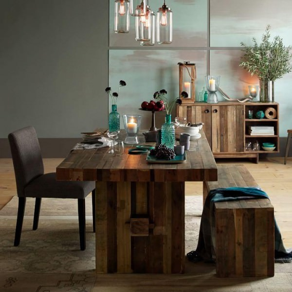 Reclaimed-wood-dining-table-from-West-Elm