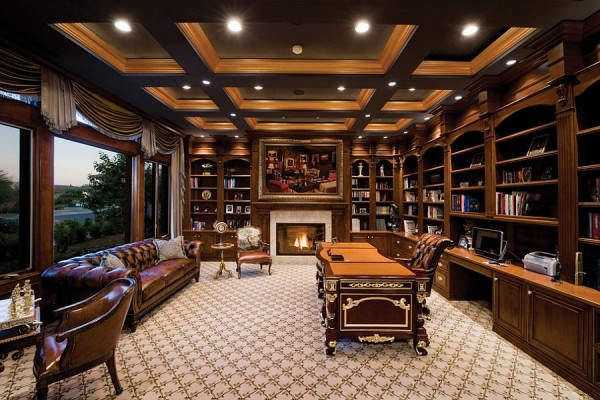 Classy-home-office-with-inviting-ambiance