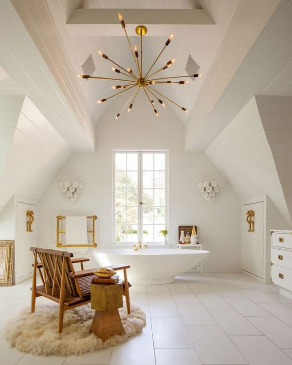 Spacious-and-bright-attic-bathroom-with-soaking-tub