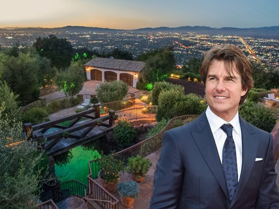tom cruise hollywood hills
