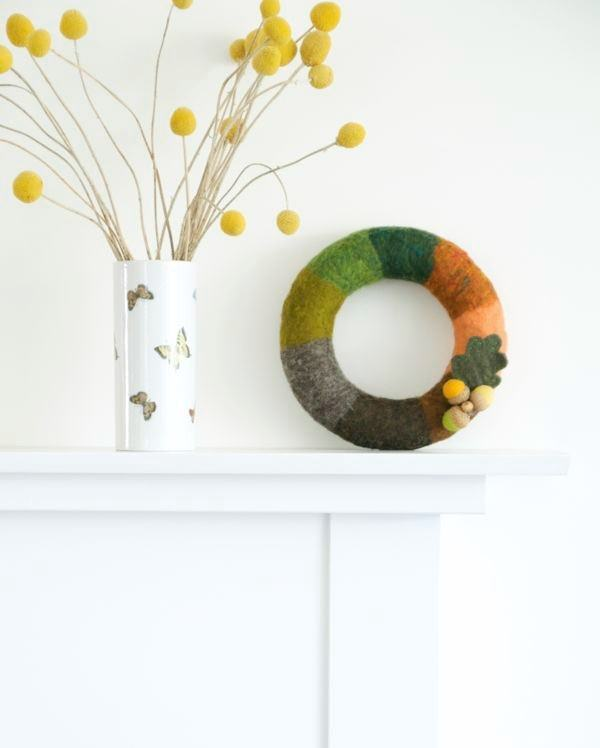 Felted-fall-wreath