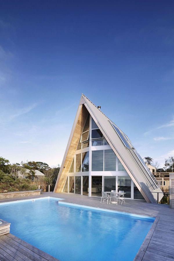 casa in forma de triunghi 2