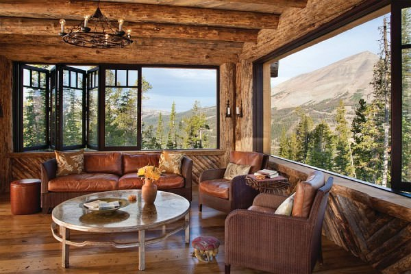 cabana rustica de munte 4