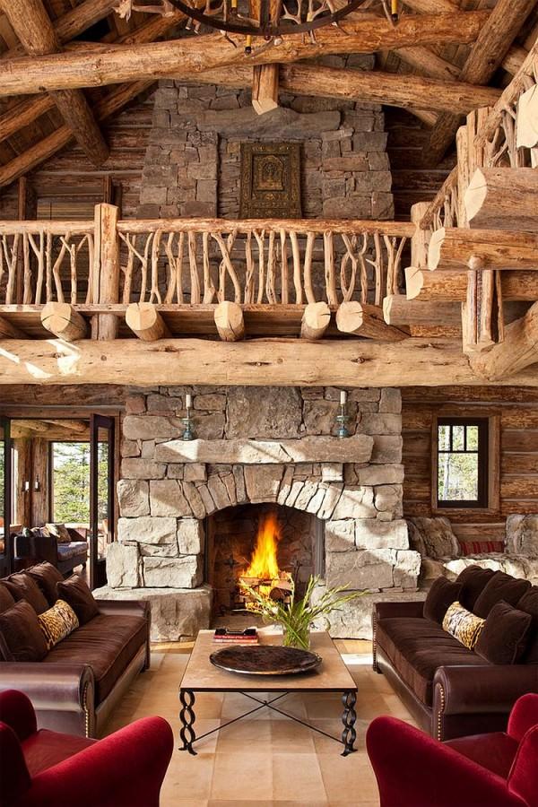 cabana rustica de munte 5