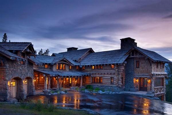 cabana rustica de munte