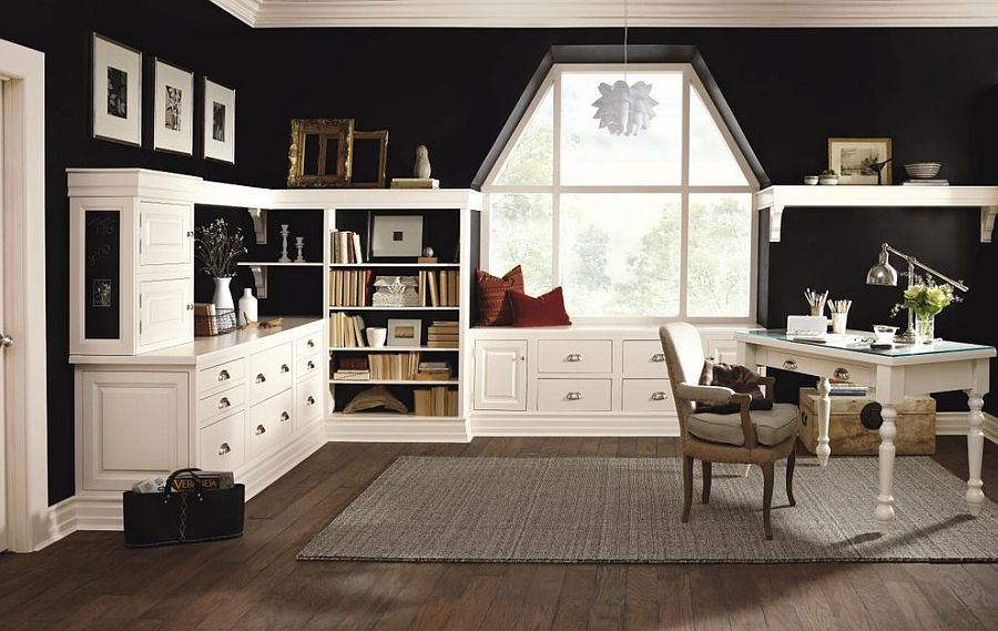 birouri in alb si negru 12