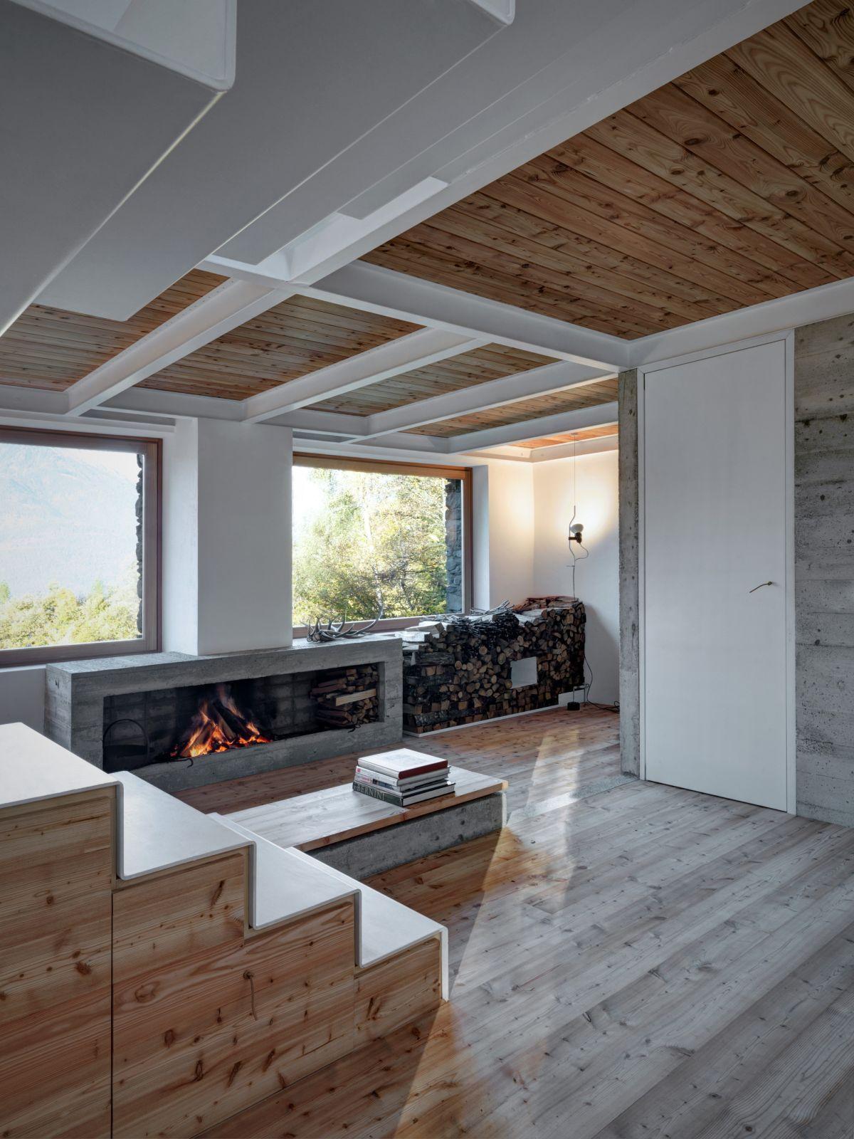 cabana rustica cu influente moderne 11