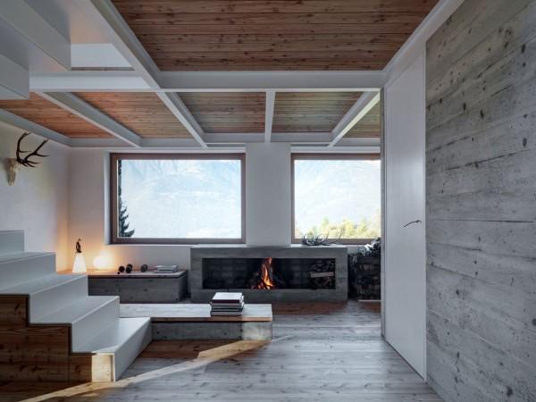 cabana rustica cu influente moderne 13