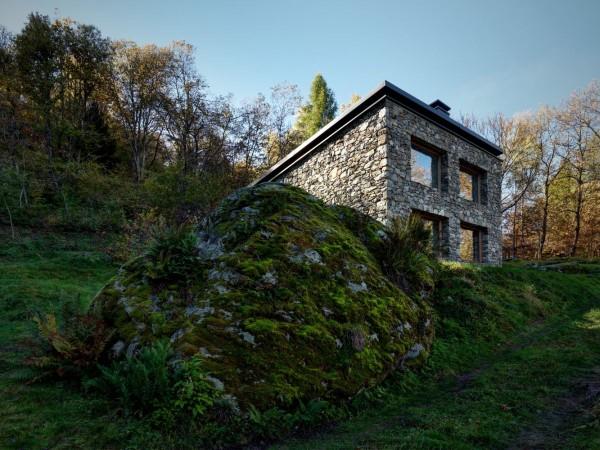 cabana rustica cu influente moderne 2