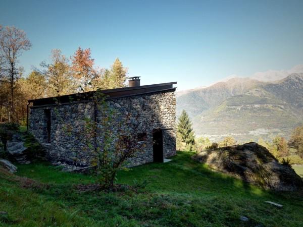 cabana rustica cu influente moderne 4