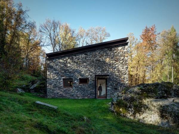 cabana rustica cu influente moderne 6
