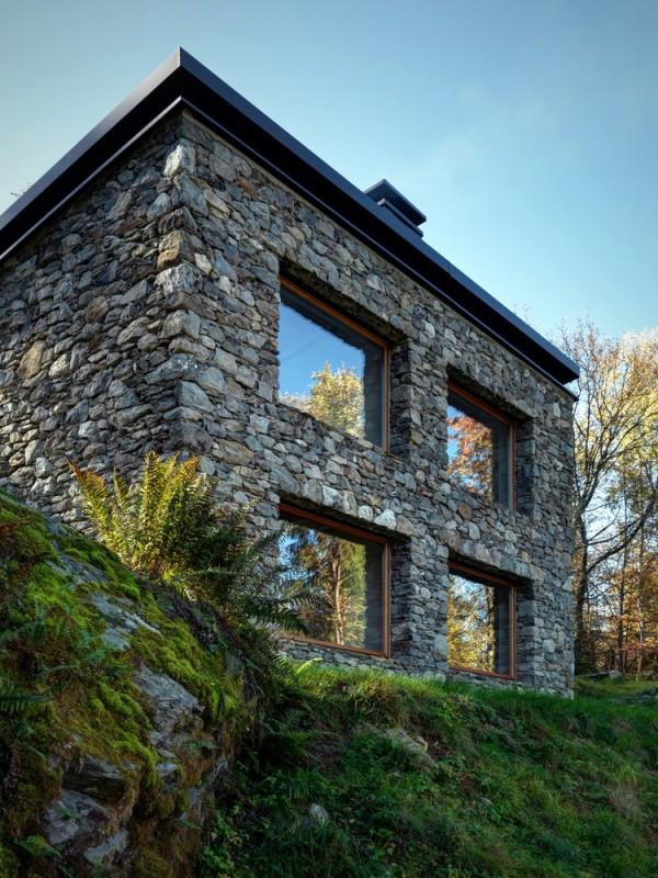 cabana rustica cu influente moderne 7