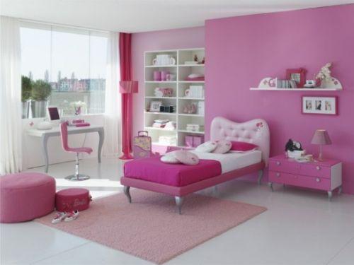 dormitoare roz pentru fete 10
