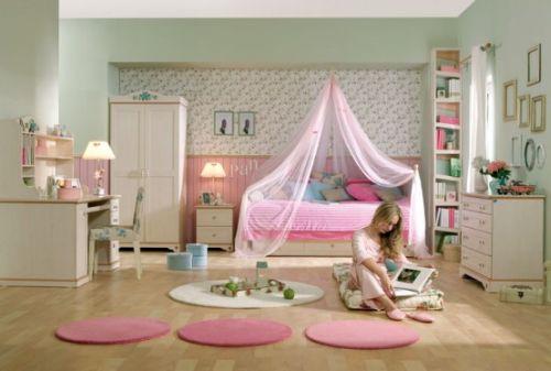 dormitoare roz pentru fete 11