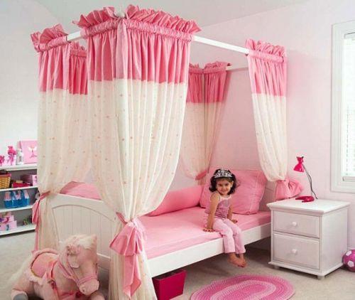 dormitoare roz pentru fete 12