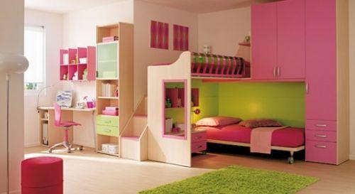 dormitoare roz pentru fete 13