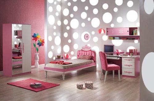 dormitoare roz pentru fete 14