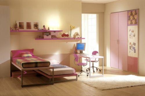 dormitoare roz pentru fete 3