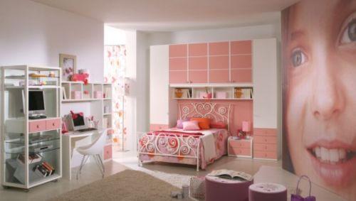 dormitoare roz pentru fete 4