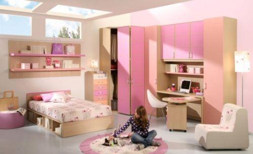 dormitoare roz pentru fete 5