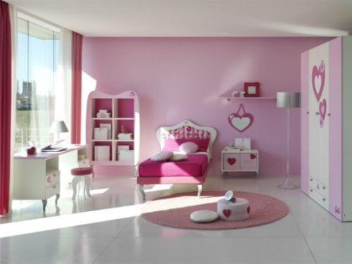 dormitoare roz pentru fete 8