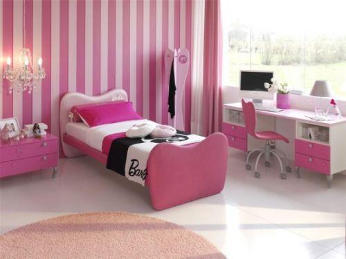 dormitoare roz pentru fete
