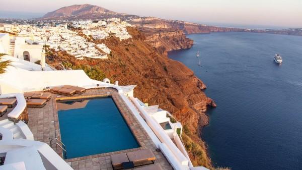 Vasilicos Hotel in Santorini