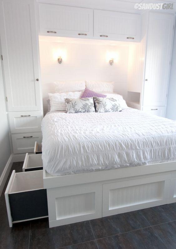 paturi cu spatiu de depozitare 13