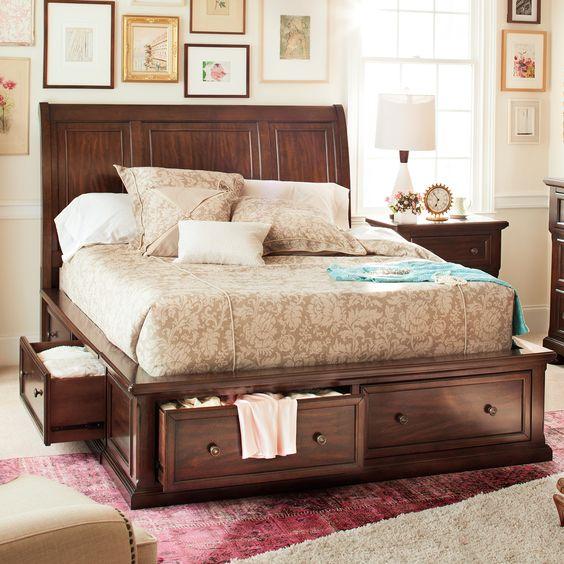 paturi cu spatiu de depozitare 19