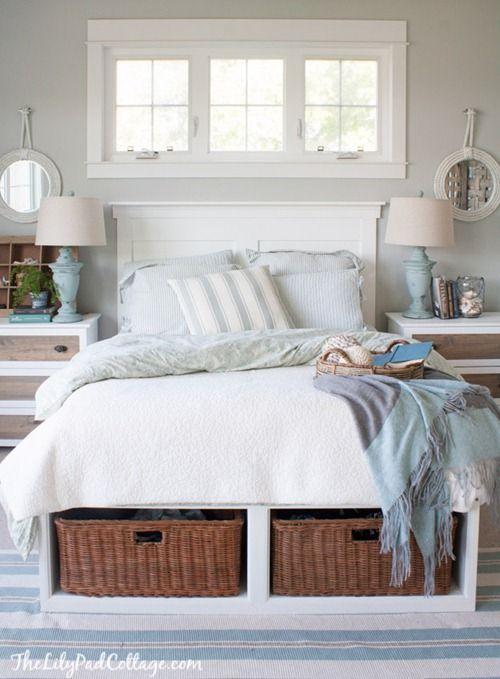 paturi cu spatiu de depozitare 2