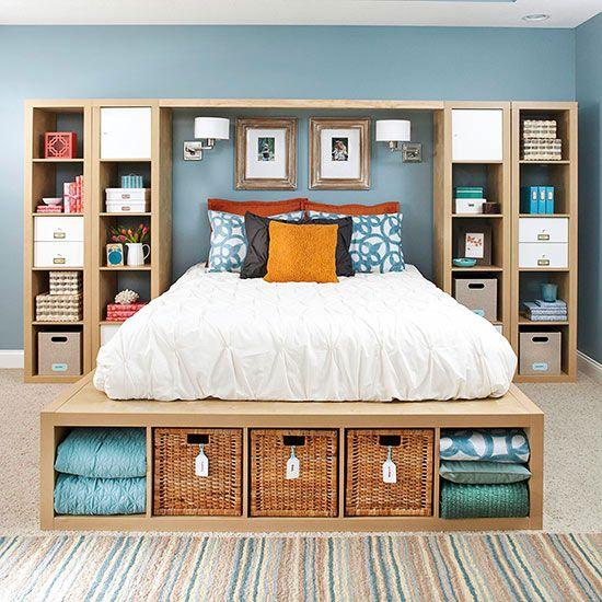 paturi cu spatiu de depozitare 20