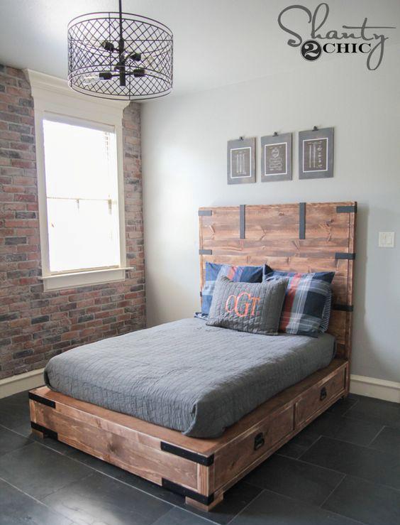 paturi cu spatiu de depozitare 22