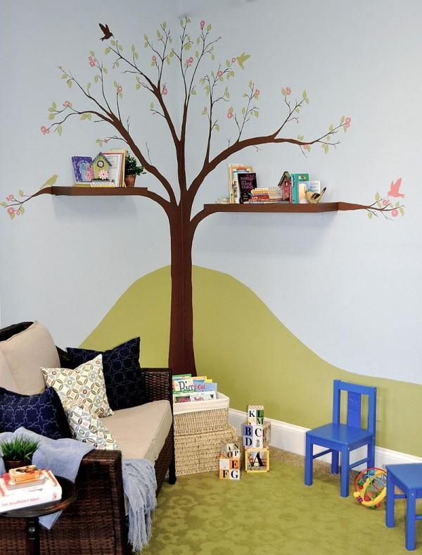 rafturi pentru camere de copii 11