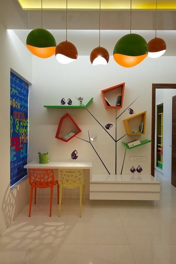 rafturi pentru camere de copii 18