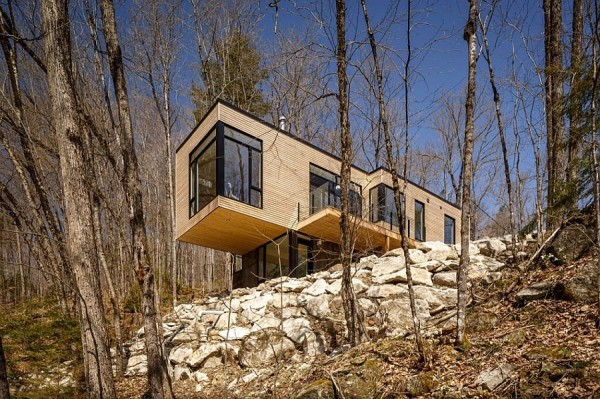 cabana de lemn moderna