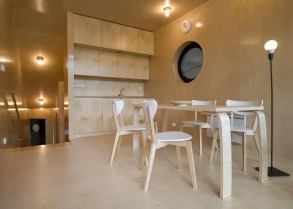 casa minimalista pe malul lacului 5