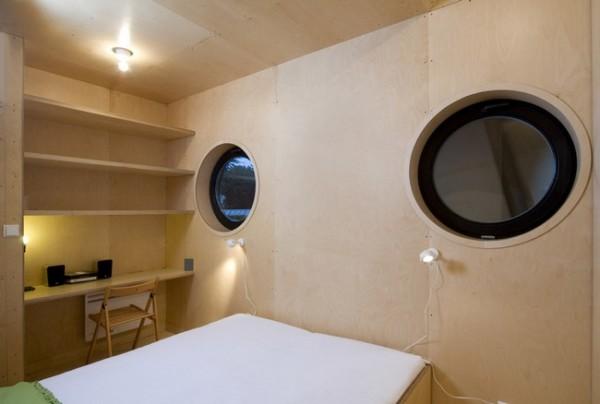 casa minimalista pe malul lacului 7
