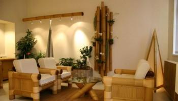 mobilier de bambus