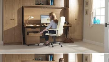 paturi cu birouri incorporate 2