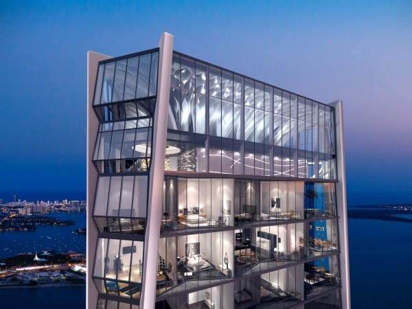 one thousand miami - complex rezidential de lux