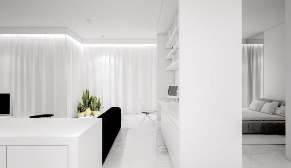 spatii minimaliste albe 10