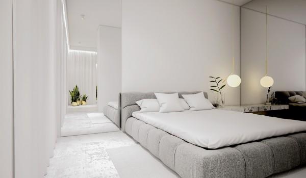 spatii minimaliste albe 14