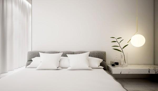 spatii minimaliste albe 15