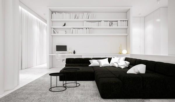 spatii minimaliste albe 8