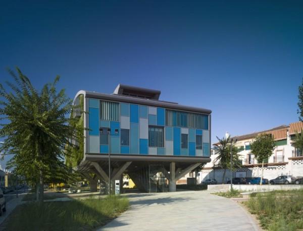 casa ecologica imbracata in verdeata 3